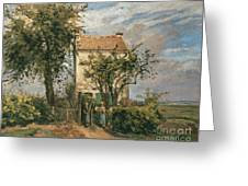 The Road To Rueil Greeting Card