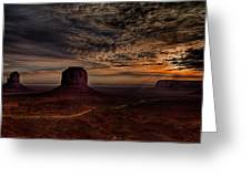The Road To Sunrise Greeting Card