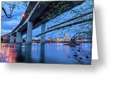 The Robert E Lee Bridge Greeting Card