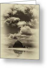 The Rock Of Paradise Greeting Card