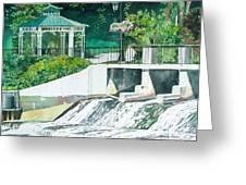 The Rockford Dam Greeting Card