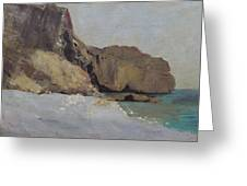 The Rocks At Vallieres Greeting Card