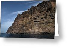 The Rocks Of Los Gigantes 1 Greeting Card