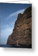 The Rocks Of Los Gigantes 2 Greeting Card