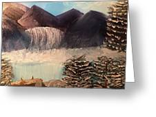 The Rocky Mountain Greeting Card