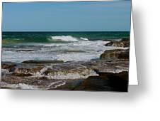 The Rocky Shore Greeting Card