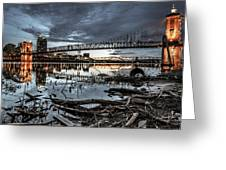 The Roebling Gotham Style Greeting Card
