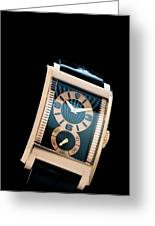 the Rolex Prince, eve rose gold.  Greeting Card