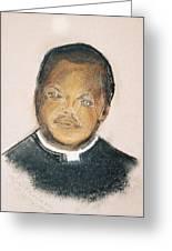 The Roman Catholic Priest From Zanzibar  Greeting Card