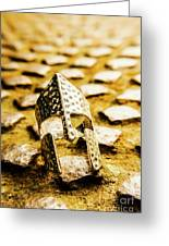 The Roman Pavement Greeting Card