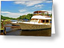 The Rondout At Eddyville Greeting Card
