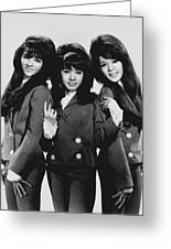 The Ronettes 1966 Greeting Card