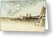 The Roofs Of Paris Greeting Card