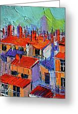 The Rooftops Greeting Card