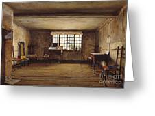 The Room In Which Shakespeare Was Born Greeting Card