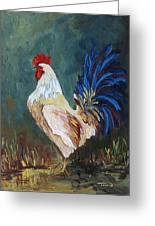 The Rooster Iv  Greeting Card