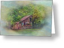 The Rose Barn Greeting Card