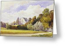 The Rosenau From The South-east Greeting Card