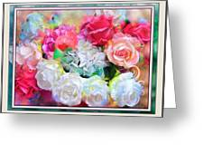 The Roses Of Catherine Deneuve Greeting Card