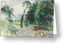 The Route Greeting Card