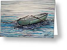 The Row Boat Greeting Card