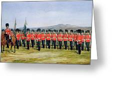The Royal Fusiliers Greeting Card
