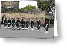The Royal Regiment Of Scotland Greeting Card