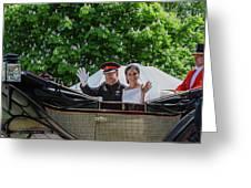 The Royal Wedding Harry Meghan Greeting Card