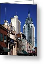 The Rsa Tower - Mobile Alabama Greeting Card