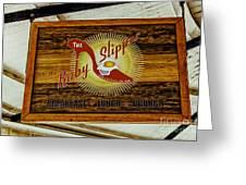 The Ruby Slipper Greeting Card