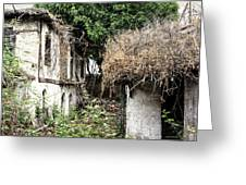 The Ruined Cottage Greeting Card