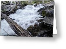 The Rushing River Greeting Card
