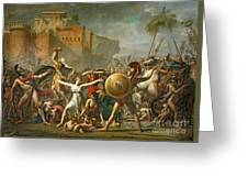 The Sabine Women Greeting Card