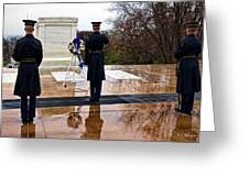 The Salute Greeting Card