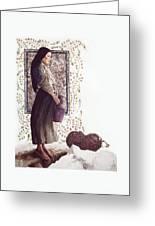 The Samaritan Woman - Lgtsw Greeting Card