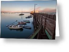 The San Luis Pier Greeting Card