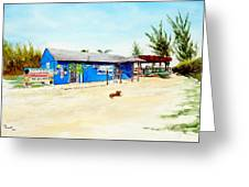 The Sand Bar - Margaritaville, Freeport, Bahamas Greeting Card