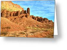 The Scenic Drive II Greeting Card