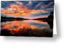 The Scenic Elbe Greeting Card