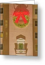 The Scintillating Wreath   Greeting Card