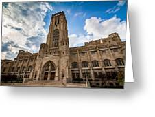 The Scottish Rite Cathedral - Indianapolis Greeting Card