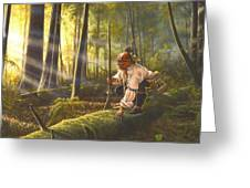 The Scout Greeting Card