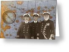 The Sea Captains Greeting Card