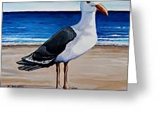 The Sea Gull Greeting Card