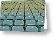 The Seats Greeting Card
