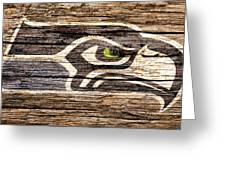 The Seattle Seahawks 2f Greeting Card
