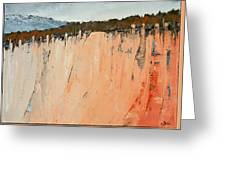 The Second Cliff Edge Greeting Card