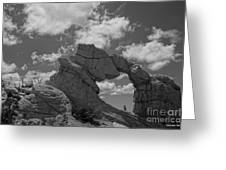 The Secret Arch Greeting Card