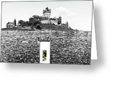 The Secret Door 04 Greeting Card