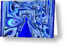 The Secret Room Abstract Greeting Card